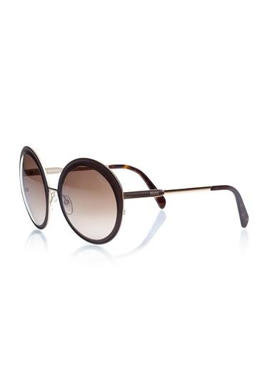 Emilio Pucci  Ep 0038 49K Kadın Güneş Gözlüğü Kahve